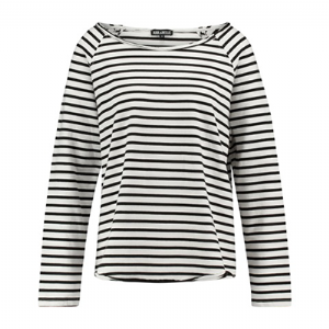 Edgy sweat stripe